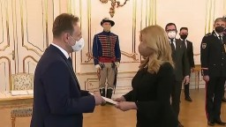 Vyhlásenie prezidentky Z. Čaputovej po vymenovaní S. Vlčana za ministra pôdohospodárstva