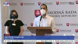 TB poslanca J. Heráka o obvineniach zo sexuálneho zneužívania