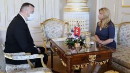 Prezidentka sa stretla s Krajniakom. Hovorili o dotáciách na obedy pre deti
