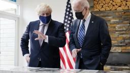 Závan čerstvého vzduchu, tak zhodnotil Johnson stretnutie s Bidenom