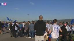 V závode na Považí sa začal ostrý štrajk. Zamestnávateľ privolal políciu