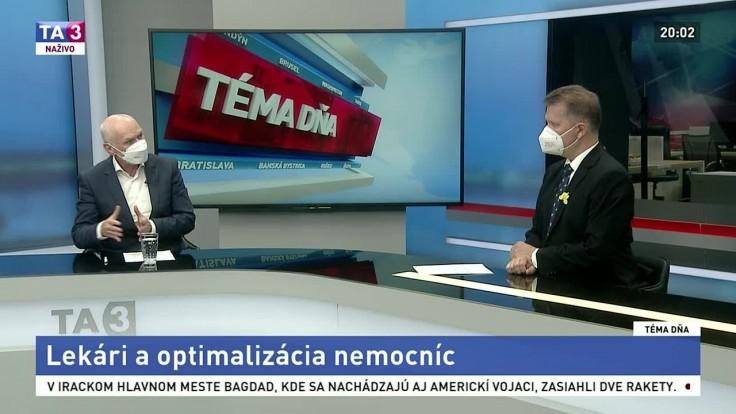 Premenovaná stratifikácia, tvrdí o novej reforme nemocníc šéf lekárskej komory