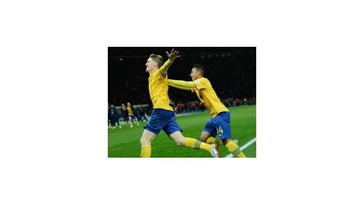 Španieli prišli o rekordnú sériu, Švédi dotiahli štvorgólové manko