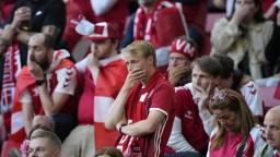 Zápas Dánska s Fínskom po kolapse Eriksena pokračuje