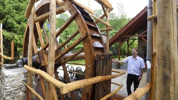 FOTO Tip na výlet.  Na Gemeri obnovili starý vodný mlyn