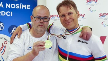 Skvelý úspech. Paracyklista Kuril si vybojoval druhý titul v kariére