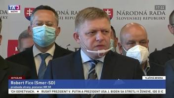 TB predstaviteľov strany Smer-SD o mimoriadnej schôdzi NR SR
