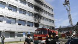 V košickej nemocnici vypukol požiar, evakuovali šesť pacientov