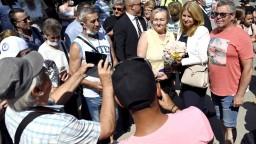 Prezidentka navštívila Zemplín: Situácia v regióne je náročná