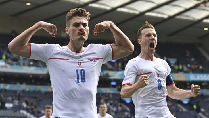 Českí futbalisti remizovali s Chorvátmi, skóre otvoril Schick