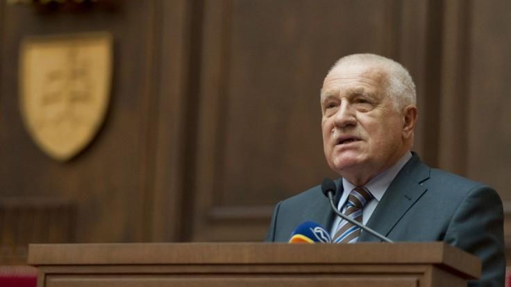 Český politik a niekdajší prezident Václav Klaus oslavuje 80 rokov