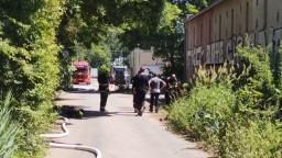 Únik nebezpečných chemikálií v Plzni má tretiu obeť, muž zomrel v nemocnici