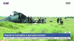 Tragédia v Rusku: Lietadlo s parašutistami sa zrútilo, niekoľko ľudí zahynulo