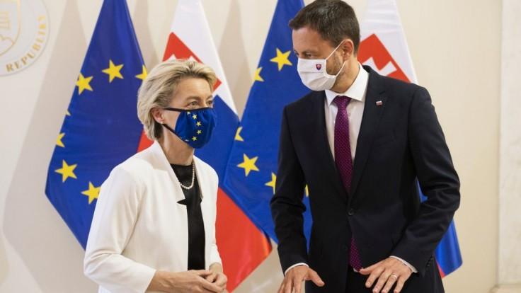 Slovenský plán obnovy schválili. Je ambiciózny, hodnotí von der Leyenová