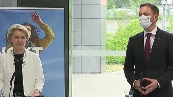 TB premiéra E. Hegera a šéfky EK U. von der Leyenovej po spoločnom stretnutí