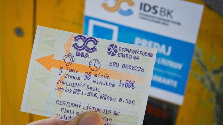 Od júla končí v bratislavskej MHD 15-minútový lístok. Ročné predplatné zlacnie o štvrtinu