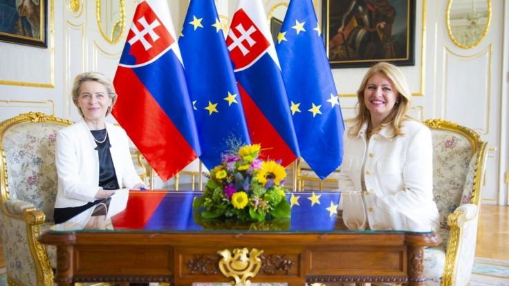 Takto vyzerali stretnutia von der Leyenovej so slovenskými politickými špičkami