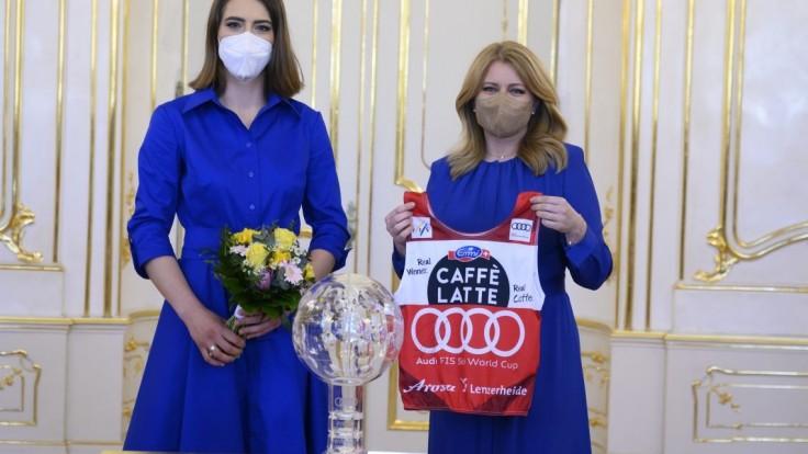 Výbor zastavil konanie voči prezidentke Čaputovej, išlo o dres od Vlhovej a oxymetre