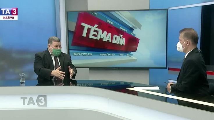 Krčméry potvrdil Delta variant na Slovensku. Priznal, že sa mu vyhrážali smrťou