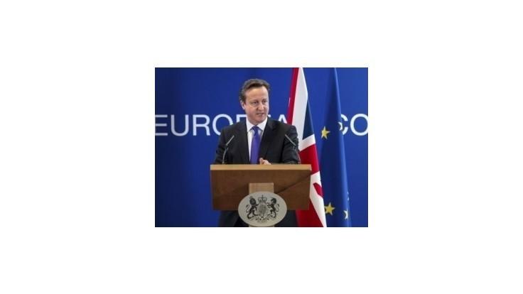 Britský premiér hrozí vetovaním rozpočtu EÚ