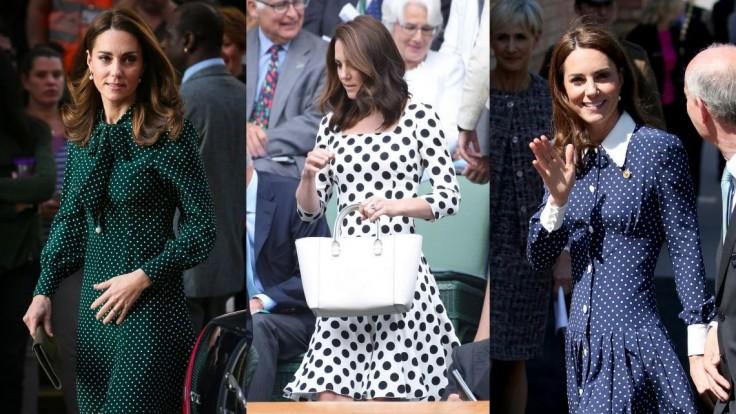 Kate Middleton je kráľovnou bodkovaných šiat, inšpirujte sa jej štýlom
