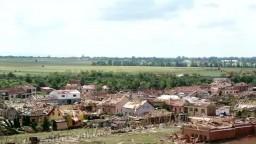 Letecké zábery na obec Hrušky: Materiálne škody po tornáde sú obrovské