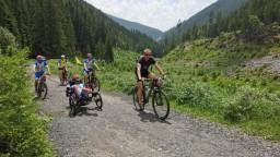 Cyklistická tour Petra Káčera sa blíži ku koncu. Zavítal aj do Liptovského Mikuláša