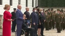 Slávnostný sľub športovcov za účasti prezidentky Z. Čaputovej