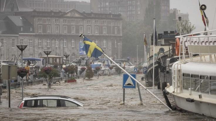 Záplavy v západnej Európe majú najmenej 120 obetí. V Nemecku je nezvestných 1300 osôb