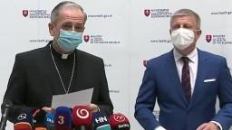 Vyhlásenie V. Lengvarského a arcibiskupa S. Zvolenského k návšteve pápeža Františka