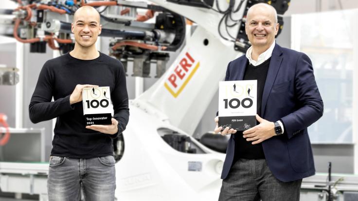 PERI je jedným z Top 100 nemeckých inovátorov
