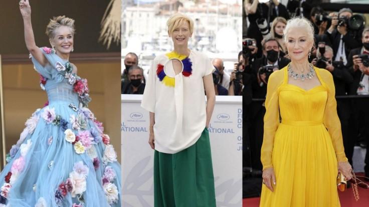 Módna prehliadka z udeľovania cien v Cannes: Slávne blond herečky stavili na hru farieb