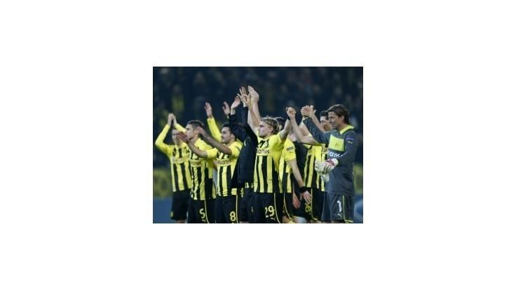 Dortmund zdolal Real, Porto a Málaga bez zaváhania
