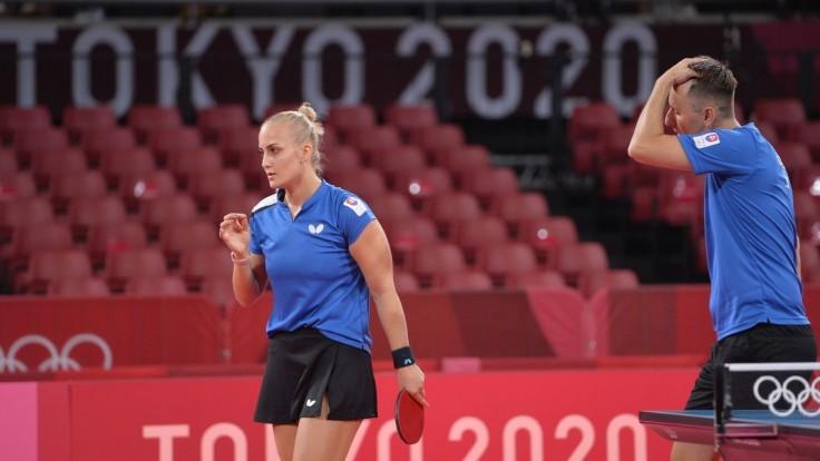 Balážová a Pištej ukončili púť v olympijskom mixe. V úvodnom semifinále prehrali s Rumunmi