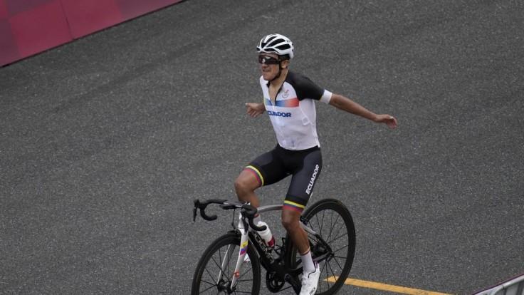 Ekvádorčan Carapaz vybojoval zlatú medailu. Juraj Sagan o popredné priečky nebojoval