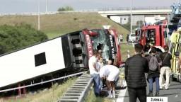 Na východe Chorvátska havaroval autobus, hlásia obete aj zranených