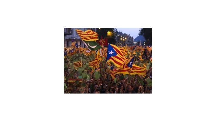 Katalánci žiadajú o pomoc v prípade odtrhnutia od Španielska