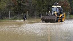V okrese Prievidza platí najvyšší stupeň výstrahy pred prívalovou povodňou
