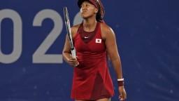 Osaková sa rozlúčila s olympiádou už v osemfinále, zdolala ju Češka Vondroušová