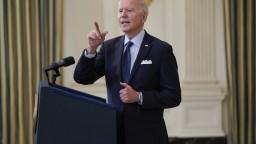 Biden sa stretol s Cichanovskou, bieloruskému ľudu vyjadril podporu