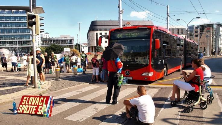 Situácia v premávke liniek bratislavskej MHD ostáva nezmenená