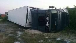 Opitý vodič prevrátil kamión, namerali mu vyše dve promile