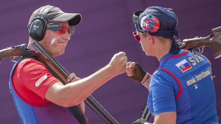 Rehák Štefečeková s Vargom skončili v mix trape na štvrtom mieste