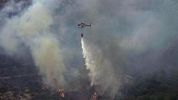 V Taliansku naďalej vyčíňajú lesné požiare. Dočasne uzavreli letisko na Sicílii