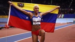 Venezuelská atlétka získala zlato v trojskoku a prekonala svetový rekord