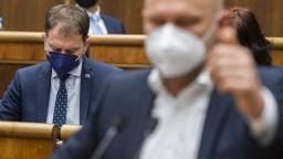 Matovič sa sťažoval na SaS, strana reaguje. Daňovú reformu neblokujú, ani ju nevideli