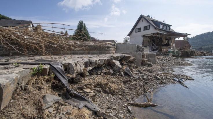 Vyčíslili škody ničivých povodní v Nemecku. Vyšplhali sa na miliardy eur