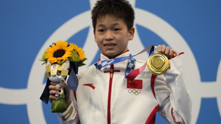 V skokoch do vody získala zlatú medailu iba 14-ročná Číňanka Čchüan Chung-čchan