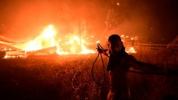 V Grécku pre rozsiahle požiare evakuujú z ostrova Evia