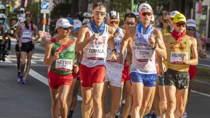 Tóth končí kariéru so cťou na 14. mieste. Zlato si za chôdzu na 50 kilometrov vybojoval Poliak